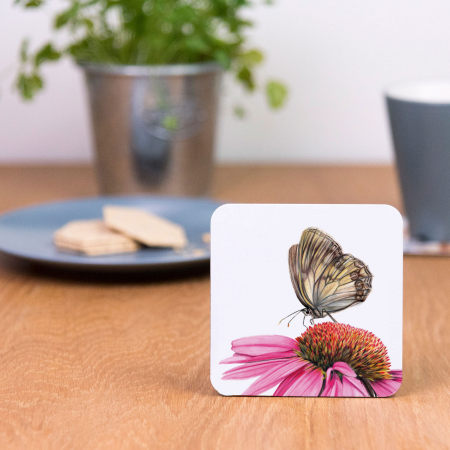 echinacea drinks coaster
