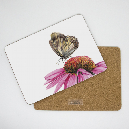 Echinacea Tablemat front and back