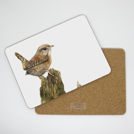 wren placemat front and back