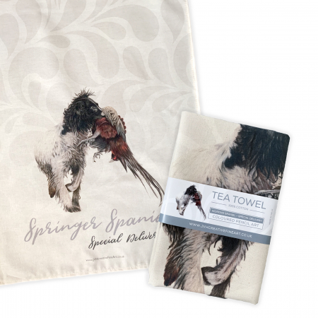 Springer Spaniel Tea Towel
