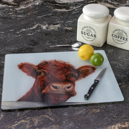 Shorthorn Cow Worktop Saver